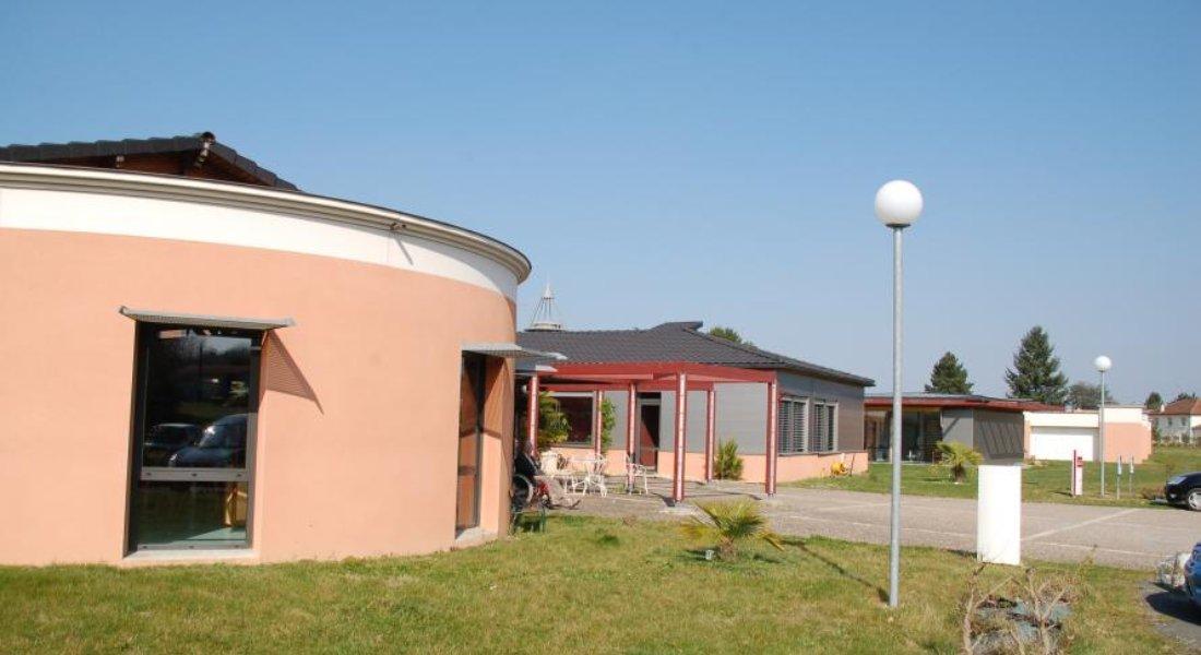 façade de la maison de retraite de mussidan