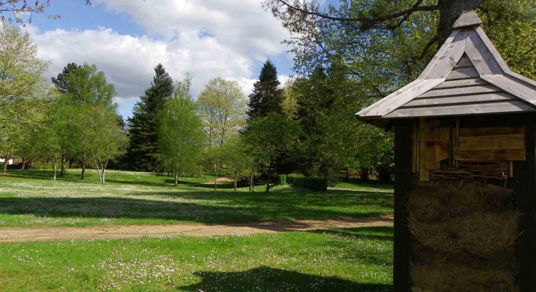 le parc voulgre sur la commune de mussidan