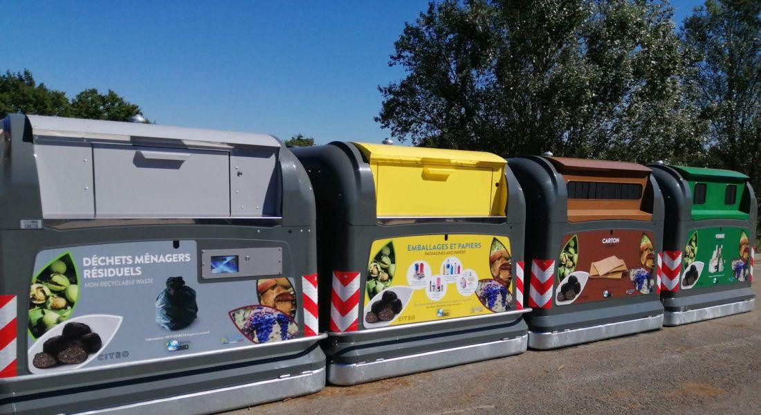 collecte de déchets sur la commune de mussidan