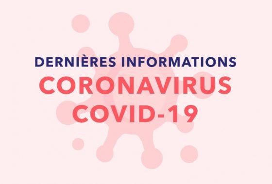 Infos COVID à compter du 16 JANVIER 2021