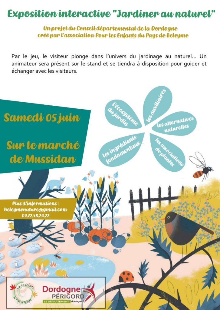 Animation Jardiner sans pesticide